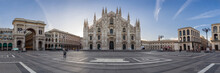 Milano City Wiews. The Cathedral