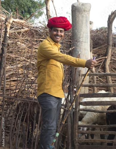 Valokuvatapetti Rural Man