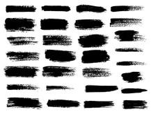 Vector Black Paint, Ink Brush ...