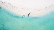 Pristine Turquoise Waters Of A...