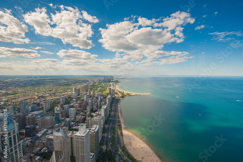 Obraz na dibondzie (fotoboard) Chicago Skyline