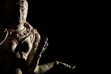 Religious Artifact. Bronze Sta...