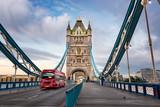 Fototapeta Londyn - Inside Tower Bridge London UK