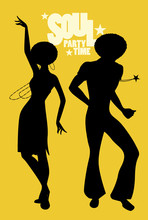 Silhouettes Of Couple Dancing ...