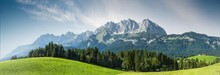 Sommer In Den österreichischen Bergen - Wilder Kaiser, Tirol, Austria