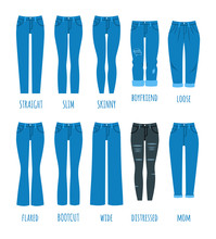 Women Jeans Styles Collection....