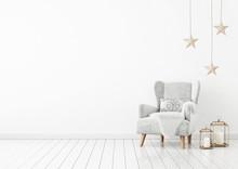 Christmas Livingroom Interior ...