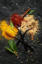 Colourful Spice Powder Seasoni...