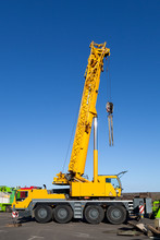 Yellow Truck Crane