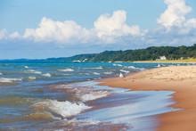 Beach Background, Lake Michigan