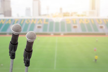 Microphone For Commentator Wit...