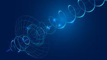 Abstract Communication Satelli...