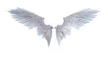 3d Illustration Angel Wings, W...