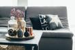 Leinwanddruck Bild - Living room decor