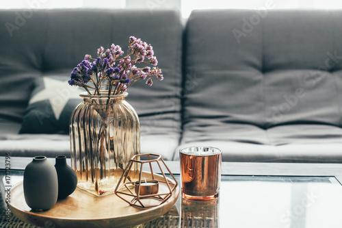 Obraz Living room decor - fototapety do salonu