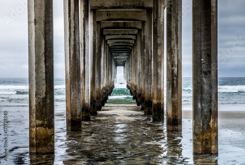 La Jolla Scripps Pier