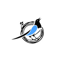 Blue-bird-nest-logo