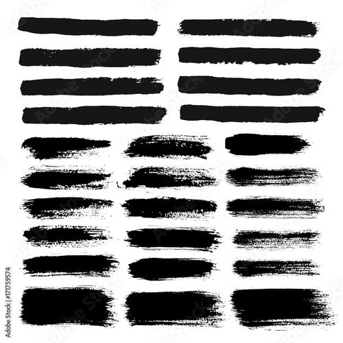 Brush Strokes Painted Text Bokes Fototapete