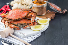 Crab Festival. Steamed Crabs W...
