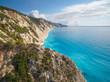 Lefkada island aerial photo