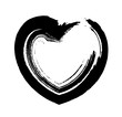 Abstract Grunge Heart Design