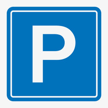 Street Road Sign : Parking Are...