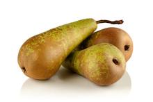 Three Ripe Juicy Pear Varietie...