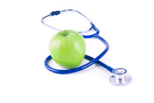 Medical Stethoscope And Apple ...