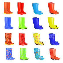 Lovely Collection Of Gum Boots...