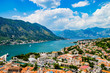 Magnificent view of Kotor Montenegro