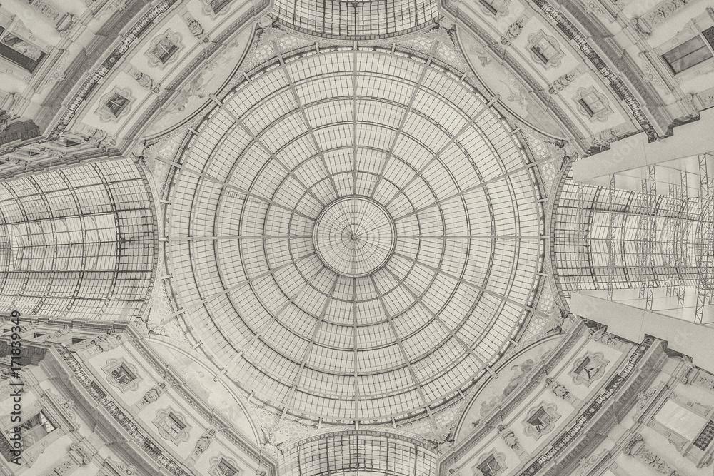 Fototapety, obrazy: Galleria Vittorio Emanuele II - Milan - background