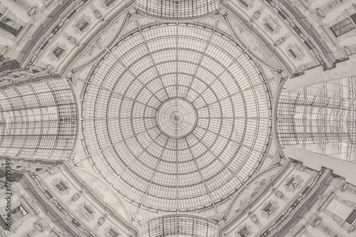 Carta da parati  Galleria Vittorio Emanuele II - Milan - background