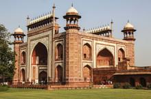 The Great Gate To Taj Mahal, Agra,India