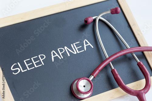 SLEEP APNEA CONCEPT Canvas Print