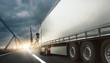 LKW transportiert Waren