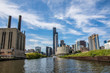 Fabrik und Marina City chicago river