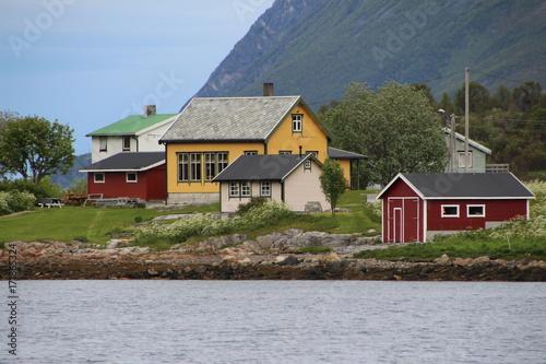 Photo  Häuser in Norwegen