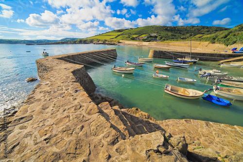Fotografie, Obraz  Port-racine, Cotentin, manche, Nnormandie