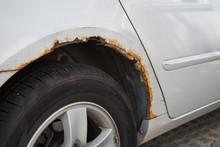 Rusty Car Wing.