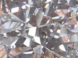 Fototapeta Kamienie - crystal refractions background
