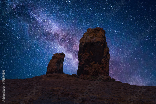 Roque Nublo (Clouded Rock) is a volcanic rock on the island of Gran Canaria, Spain. It is a famous landmark and protected as a natural monument