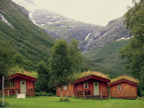 Deurstickers Landschappen Norway