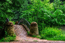Old Stone Bridge In The City P...