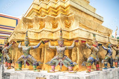 Grand Palace of Bangkok, Thailand. Wallpaper Mural