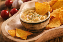 Mexican Cheese Dip Served With...