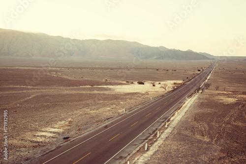 Spoed Foto op Canvas Zuid-Amerika land Nazca landscapes
