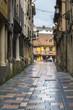 Calle Bances Candamo en Avilés, Asturias, España