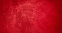 Abstract Grunge Decorative Red Background