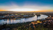 Basel Switzerland Cityscape