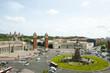 Placa d'Espanya Roundabout - Barcelona - Spain